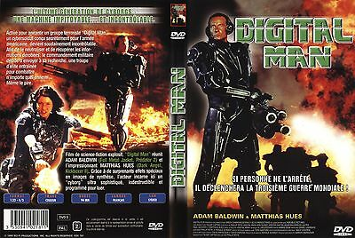 Dvd Film Action Science-Fiction : Digital Man - Cybersoldat Cyborg Armee