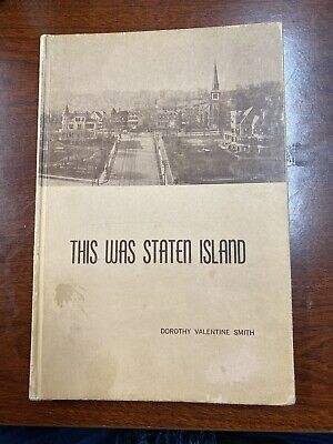 This Was Staten Island Vintage Book Hardcover Rare