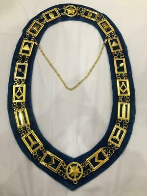 Blue Lodge Collar Chain and Apron Package DMR-400SB+DMA-4500