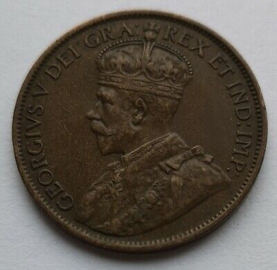 *** Canada 1912  King  Georges V ***  Large  Cent #2  *** Collector  Grade  ***
