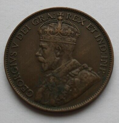 *** Canada 1913  King  Georges V ***  Large  Cent #1  *** Collector  Grade  ***
