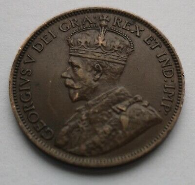 *** Canada 1918  King  Georges V ***  Large  Cent #2  *** Collector  Grade  ***
