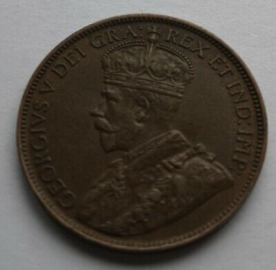 *** Canada 1920  King  Georges V ***  Large  Cent #2  *** Collector  Grade  ***