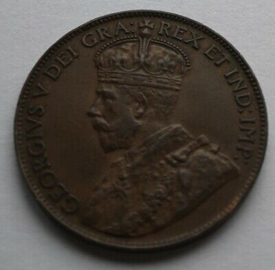 *** Canada 1920  King  Georges V ***  Large  Cent #3  *** Collector  Grade  ***