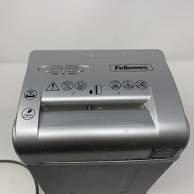 Fellowes Shredmate Shredder Compact Paper Credit Card Silver Small Working