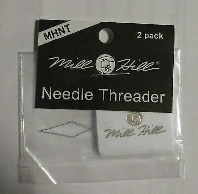 Fine Needle Threaders Mill Hill set of 2