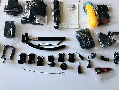 GO Pro  Type  50 Piece  Accessory Kit And Zipped Case For  Action Cameras