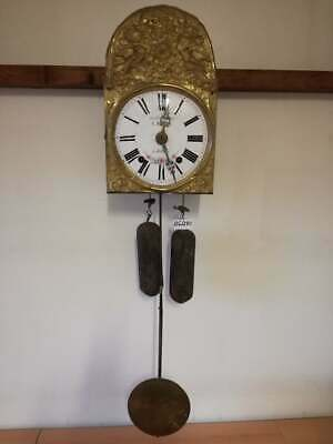 Very Nice Antique WALL CLOCK, WITH PENDULUM