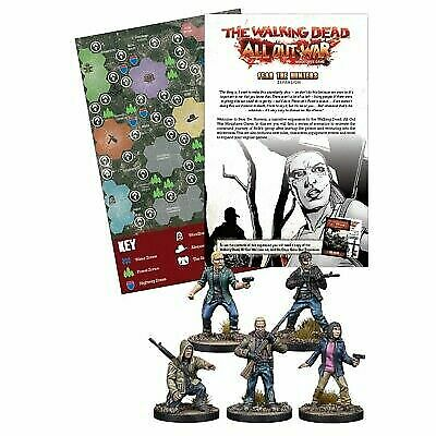 The Walking Dead: All Out War Fear the Hunters Expansion TWD Wave 5