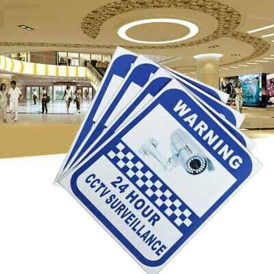 B916 Small Stickers Sticker Pack Warning CCTV Surveillance Decal Security