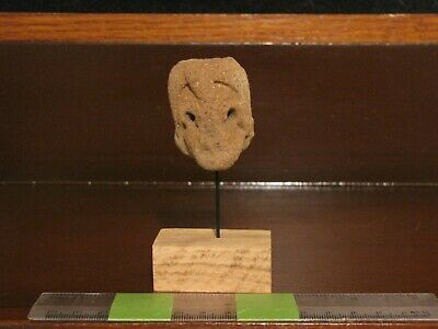 Pre Columbian, Pottery, Meso American Zone, Authentic Mounted Shard, -200 + 200
