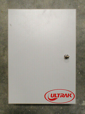 Ultrak Access Control Enclosure With 5 Reader Interface Boards Used Working