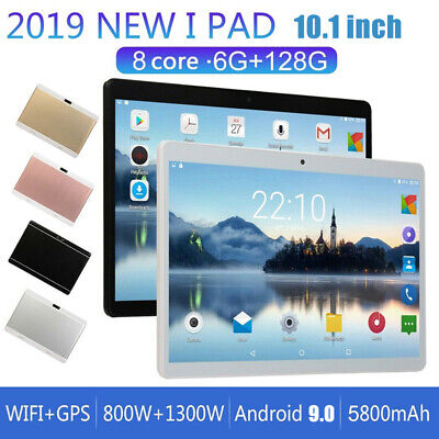 """10.1"""" Tablet PC Camera WIFI Android 9.0 Octa Core 6+128GB Dual SIM Phablet"""