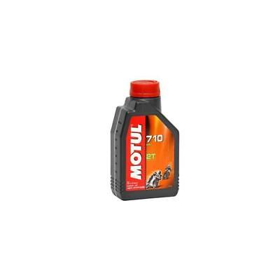 Oil Lube Lubricant for Moto Motul 710 Synthetic 2 times 1 Litro.