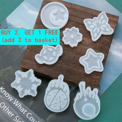 Butterfly Pendant Crystal Silicone Mold Resin Mould Jewelry Making UV Epoxy Best