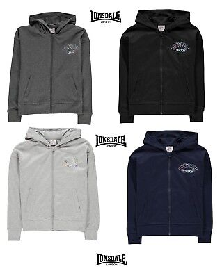 Promotion Zip Jacket Hoodie Girl Lonsdale Logo Shiny from 7 choose 13 Years