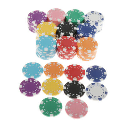 Collectables New 100 Numbered Laser 5 Colors Poker Chips 12 Gram Abs Composite Uk Stock Poker Sets Accessories Duyas Com Tr