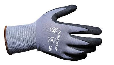 12 Pairs Portwest A350 DermiFlex Safety Gloves Hand Protection PU / Nitrile Foam