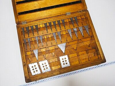 Precision Angle Gauge Block Set 26 pcs Endmass Satz Grade 1 USSR