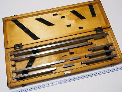 Precision Metric Gauge Block set 50mm-500mm Class 1 Top Grade USSR