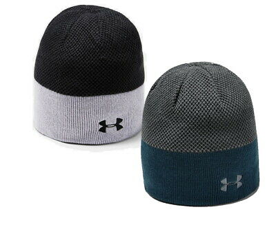2020 Under Armour UA Reversible Golf Beanie Winter Knit Thermal Hat