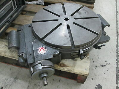 """Hauser 12"""" Manual Operation 360 Degree Rotation T-Slotted Rotary Table W/Locks"""