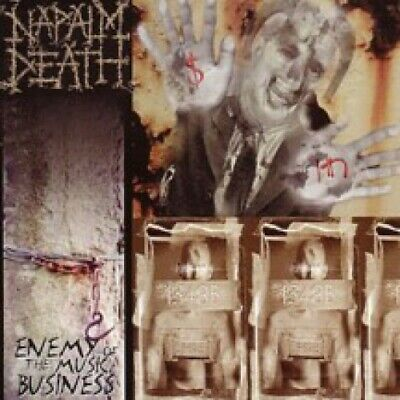 NAPALM DEATH - enemy of the music business CD