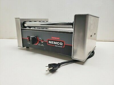 Nemco Hot Dog Roller 8010 Roll-A-Grill  #10852