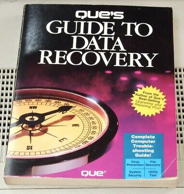 Book: Que's Guide to Data Recovery from 1991