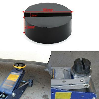 HOT Slotted Frame Rail Floor Rubber Jack Disk Pad For Pinch Weld Side JACKPAD