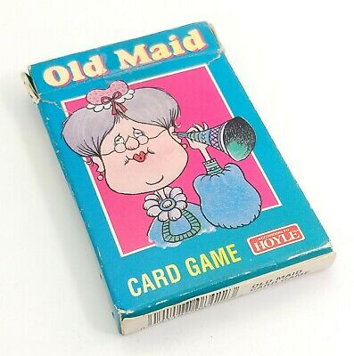 Vintage Hoyle Old Maid Card Game in Box, Complete 1995 Unopened
