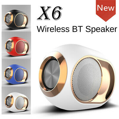 Bluetooth 5.0 Wireless TWS Speaker Subwoofer Stereo Portable Speakers TF/FM/AUX