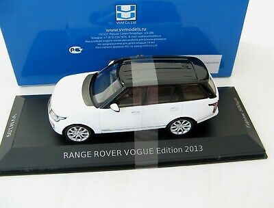 RANGE ROVER VOGUE 2013 White & Black (L.e. 500 pcs.) 1/43 Premium X