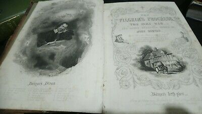 THE PILGRIM'S PROGRESS by JOHN BUNYAN 1880 vol. 1