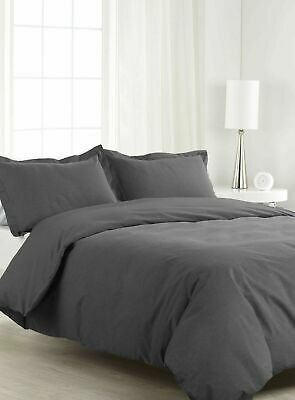 EGYPTIAN COTTON 1200~TC UK KING SIZE SOLID COLOR BEDDINGS SHEET SET FAST /& FREE