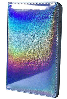 Holographic Glitter Silver Server Book for Waitress Wallet Waiter Cute Bling Wai