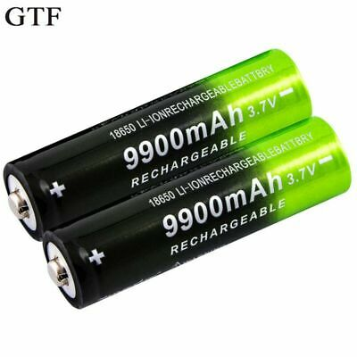 GTF 3.7V 18650 9900mAh Rechargeable Battery High Capacity Li-ion Rechargeable