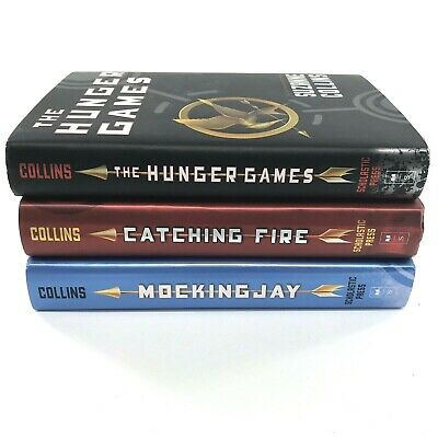 The Hunger Games Trilogy Complete Set Hunger Games Catching Fire & Mockingjay AC