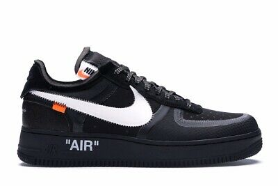 air force 1 per off white nere