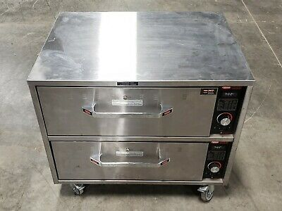 Hatco Freestanding Commercial Warming 2-Drawer HDW-2-S   #10858