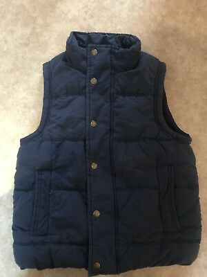 Johnnie B Boden Girl's/Boy's Gilet, Navy, Size XS,