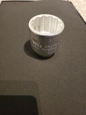 """Proto 3/4"""" Drive 1-3/4"""" Socket 5556 - 12 Point - Very good condition"""