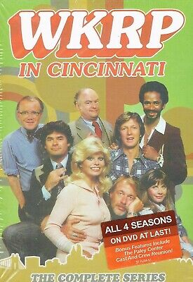 WKRP in Cincinnati: The Complete Series  12 DVD  Box Set New Free Shipping