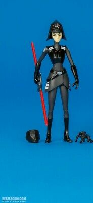 """Seventh Sister Inquisitor + Mimic Droid Star Wars Rebels 3.75"""" 5POA complete"""
