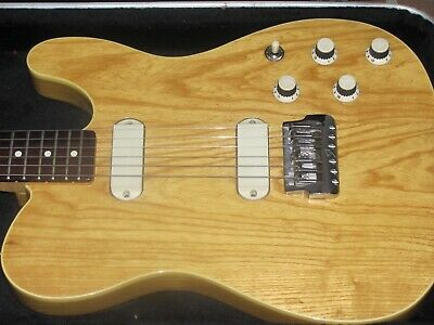 1983 Fender Telecaster Elite natural made in USA vintage!