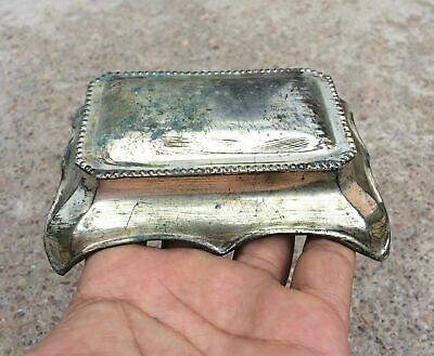 Vintage Beautiful Ink Holding Brass Ink Pot Stand
