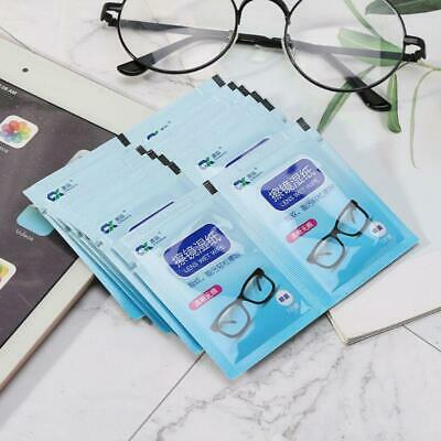 60 Pcs/1 Box Disposable Glasses Cleaner Wet Wipes Lens Phone Screen Cleaning