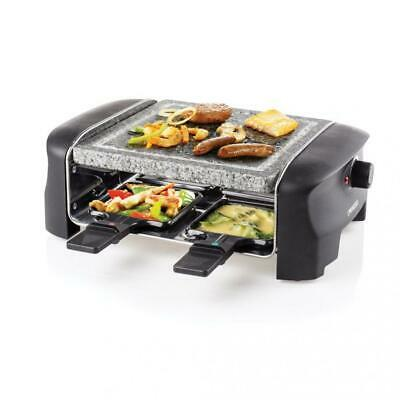 Princess Raclette 4 Stone Grill Party 33 x 21 x 11,20 cm Noir