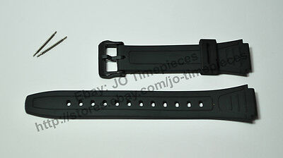 18mm watch band / strap compatible for Casio W-800H-1A , W-800HG-9A
