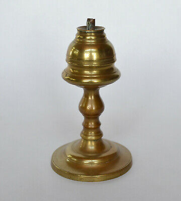 Early 19th Century American Brass Whale Oil Lamp